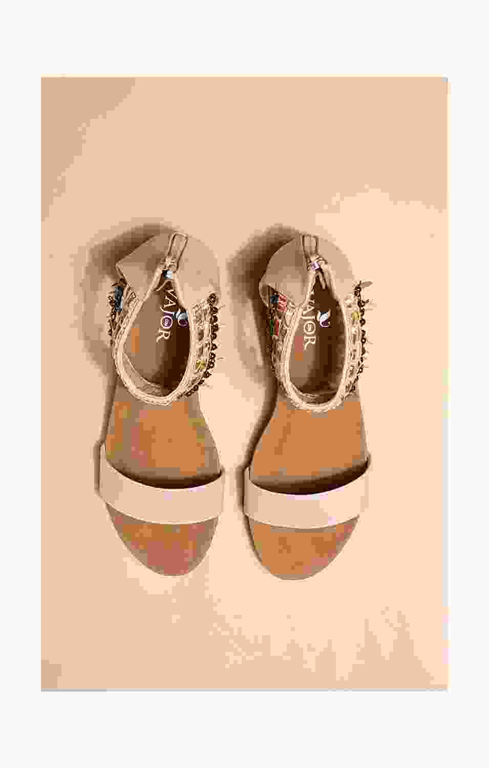 Blush And Beads Sandals