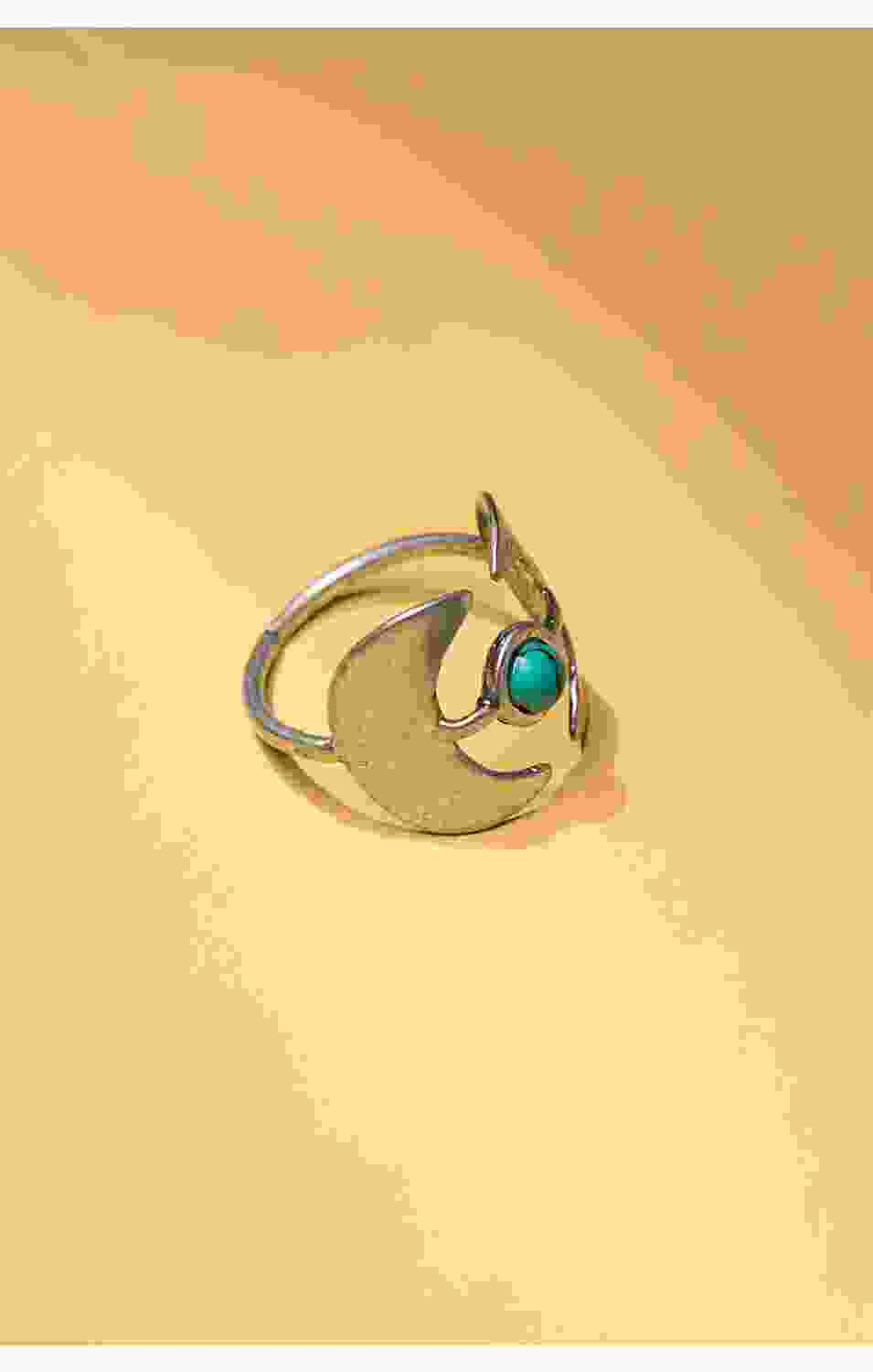 Moon Zoisite Ring