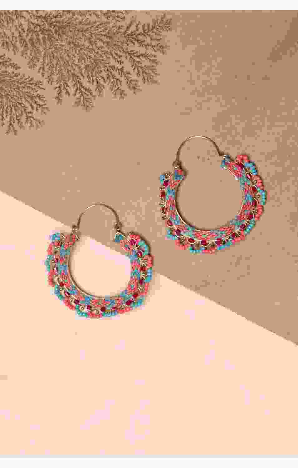 Weaved Wonder Earrings