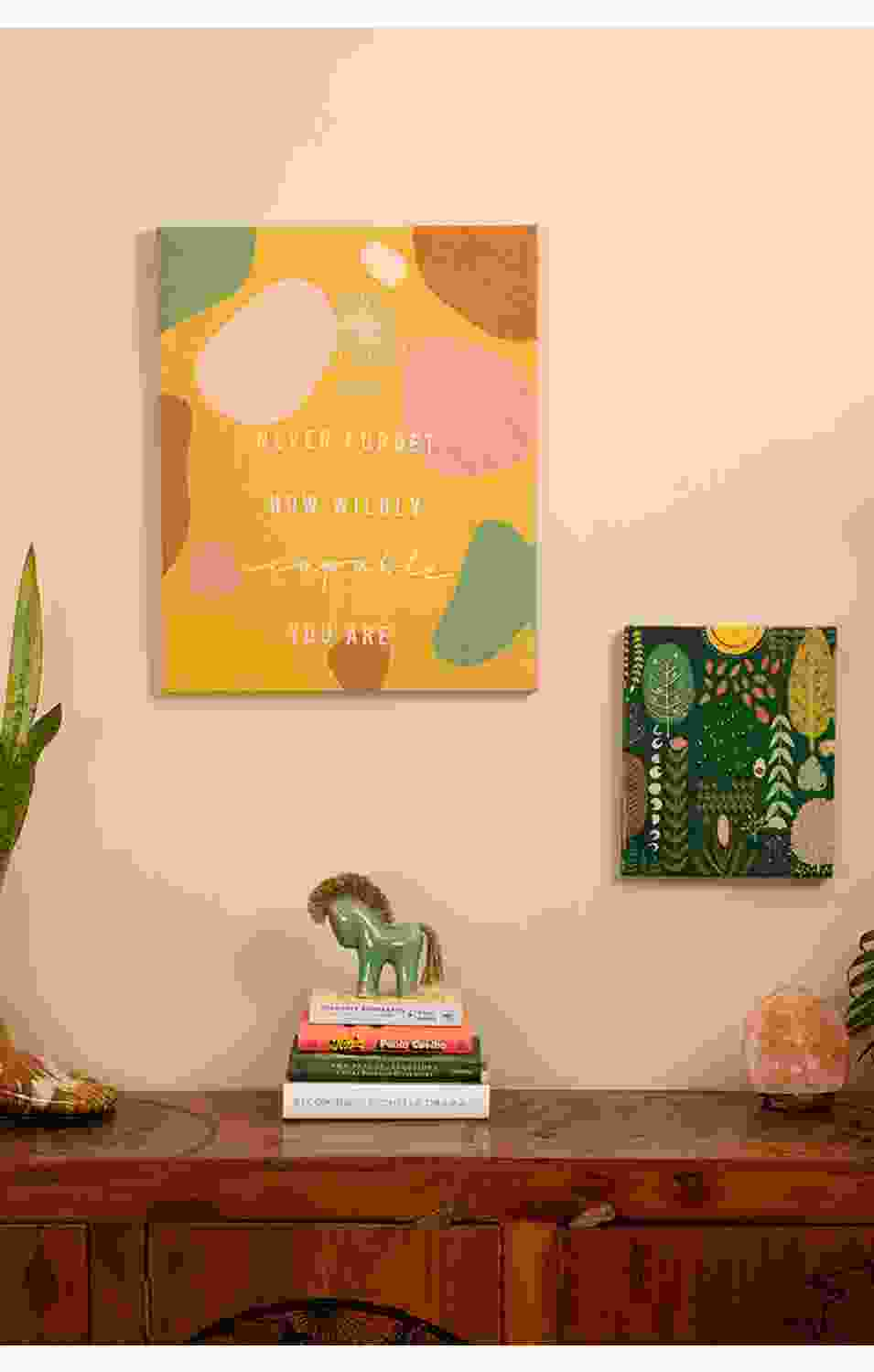 YOLANDA CANVAS WALL ART