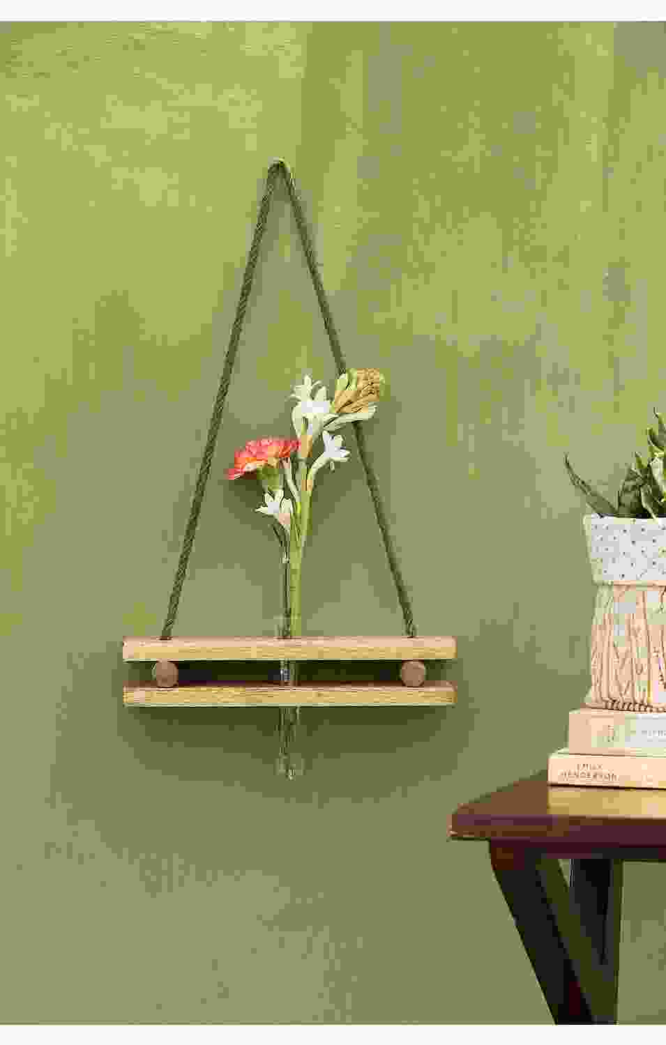 Dangling Test Tube Planter