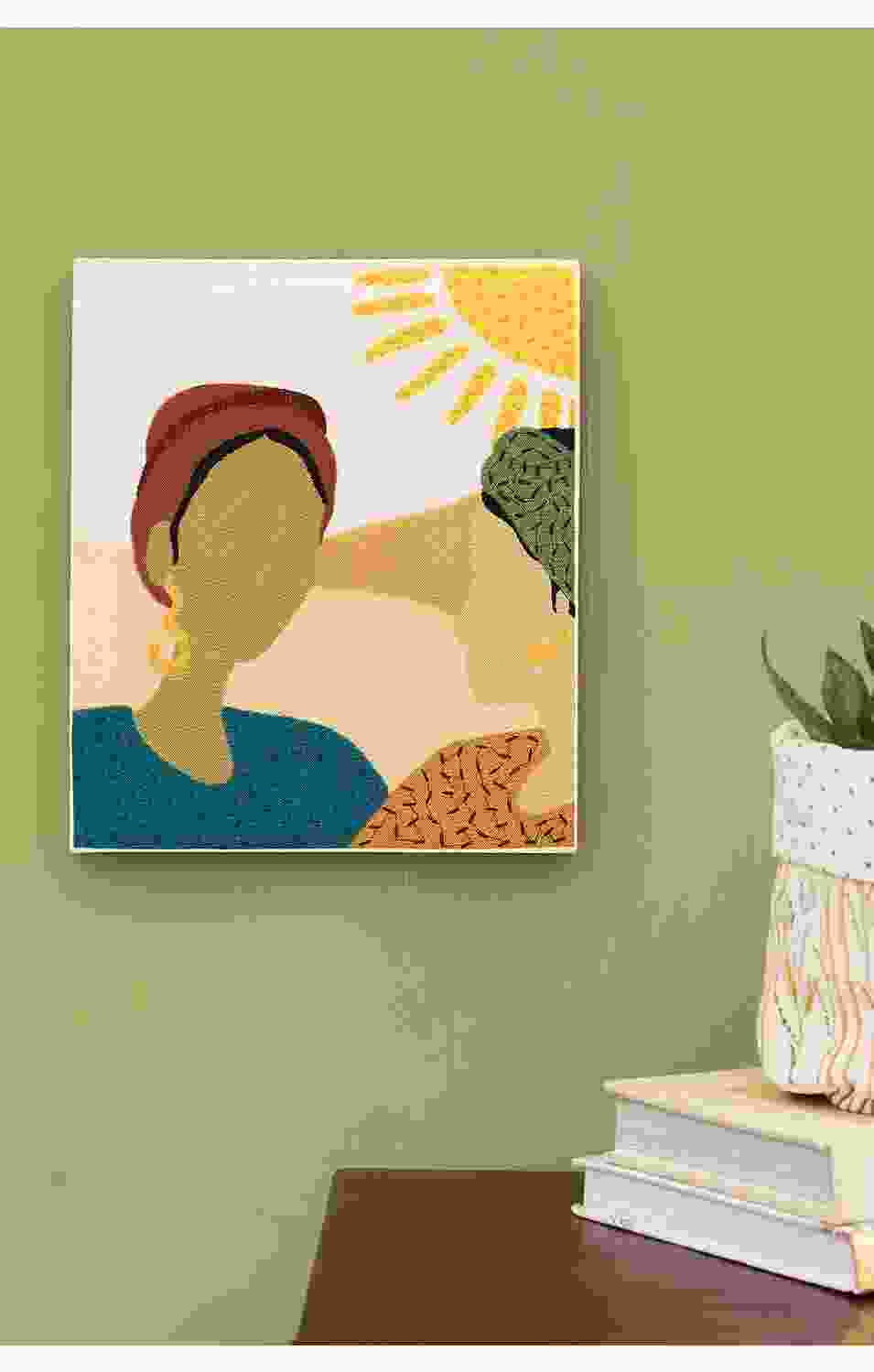 Two Women Wall Art